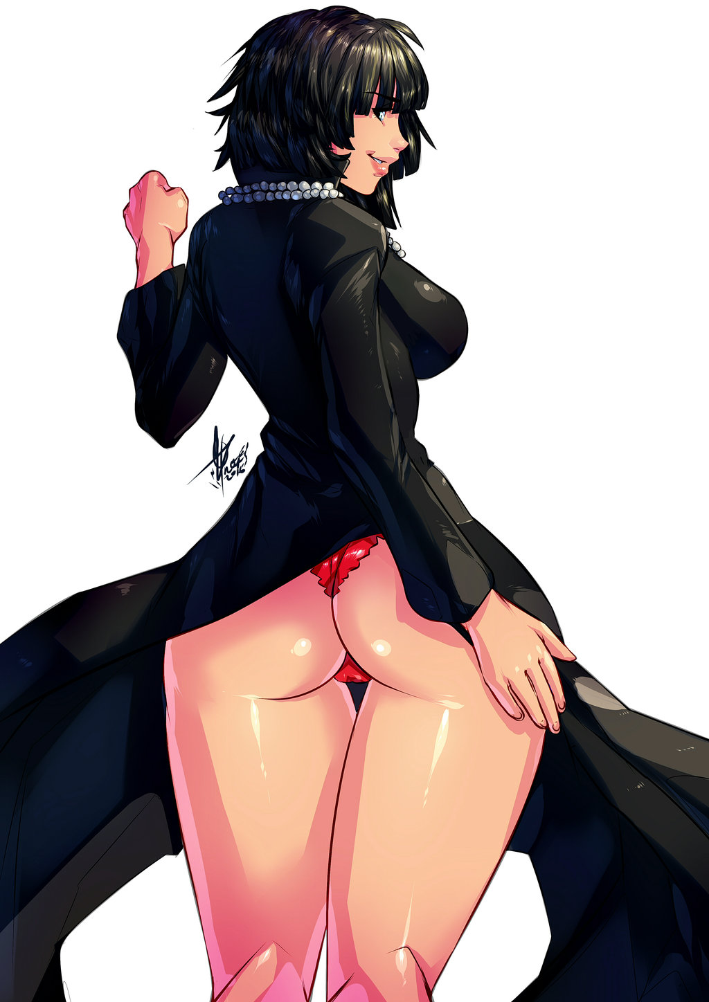 man ass fubuki one punch Vanessa from phineas and ferb