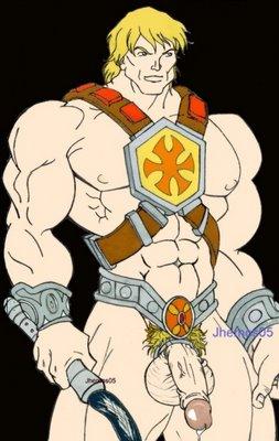 he-man Doki doki literature club muscle
