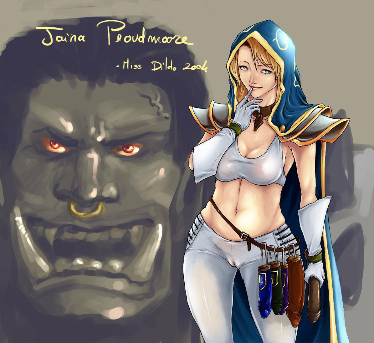 jaina windrunner proudmoore/sylvanas Nee, chanto shiyou yo