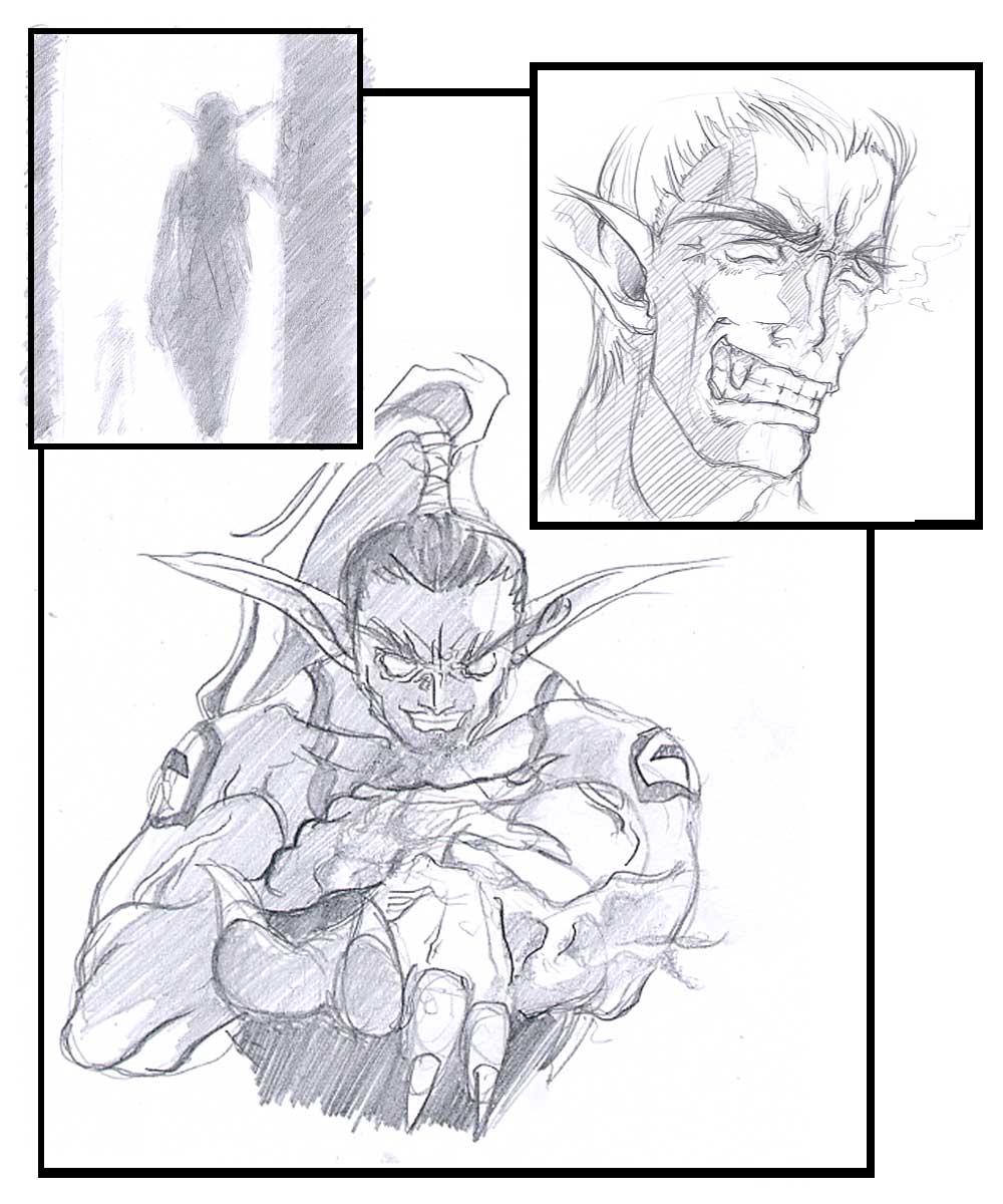 demon night hunter male elf Otoko no ko wa meido fuku ga osuki!?