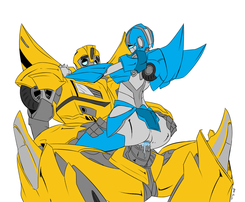 and transformers prime bumblebee arcee Digimon data squad episode 34