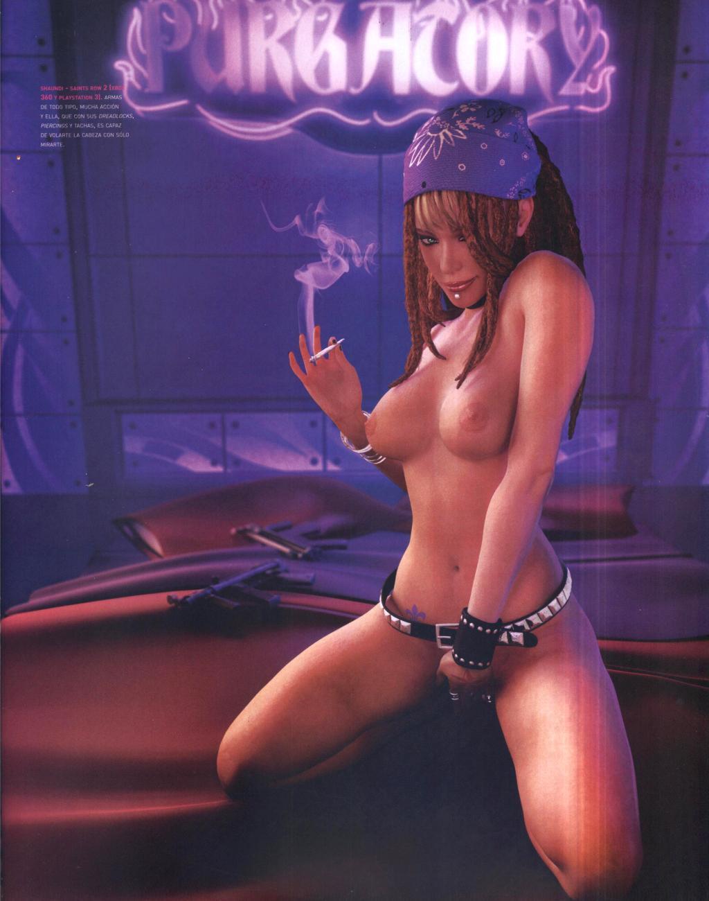 row 4 saints porn shaundi Monster girl quest ova 3