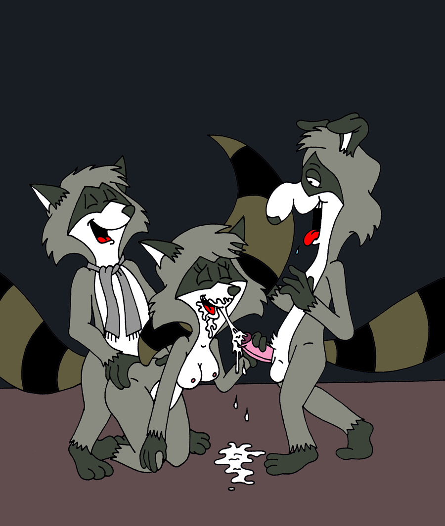 the rocket raccoon gay sex Ellie trials in tainted space