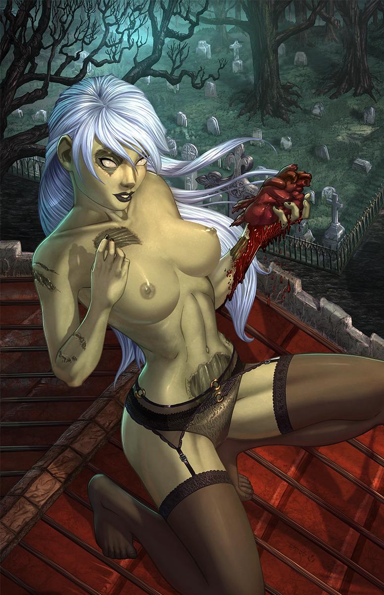 this is haruna a zombie Suzuya (kantai collection)