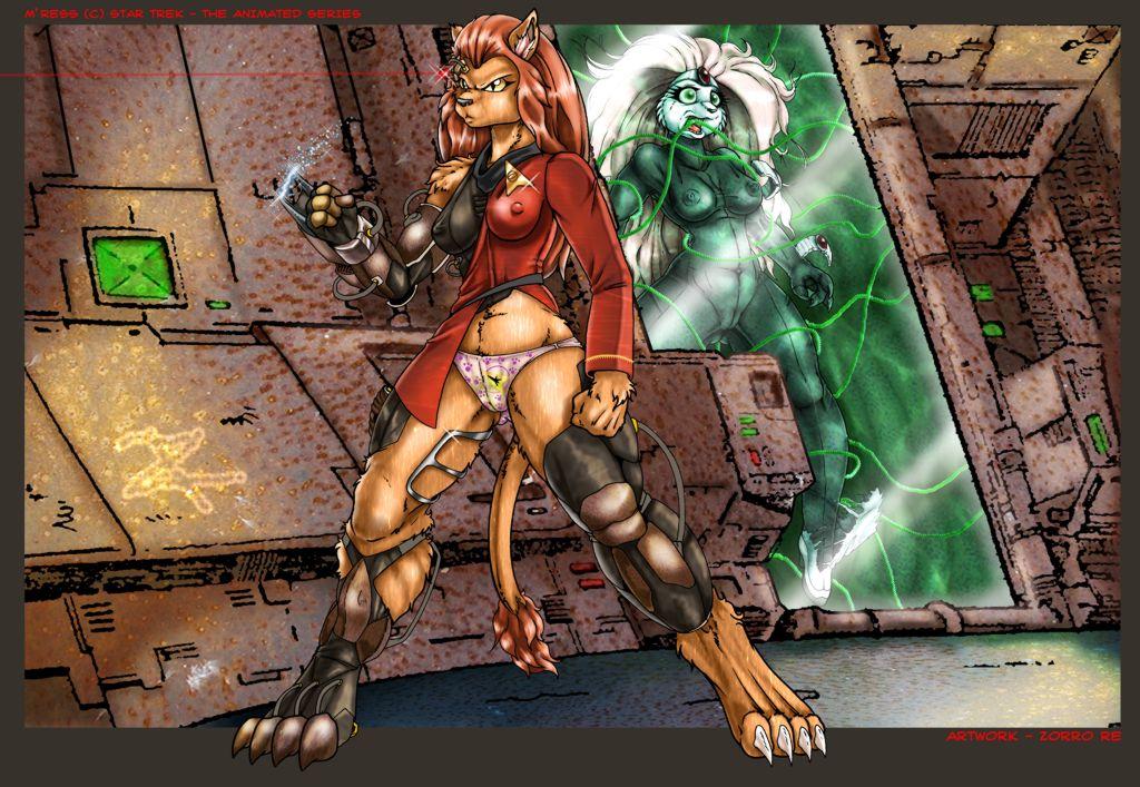 star the trek series animated m'ress Pillars of eternity 2 mirke