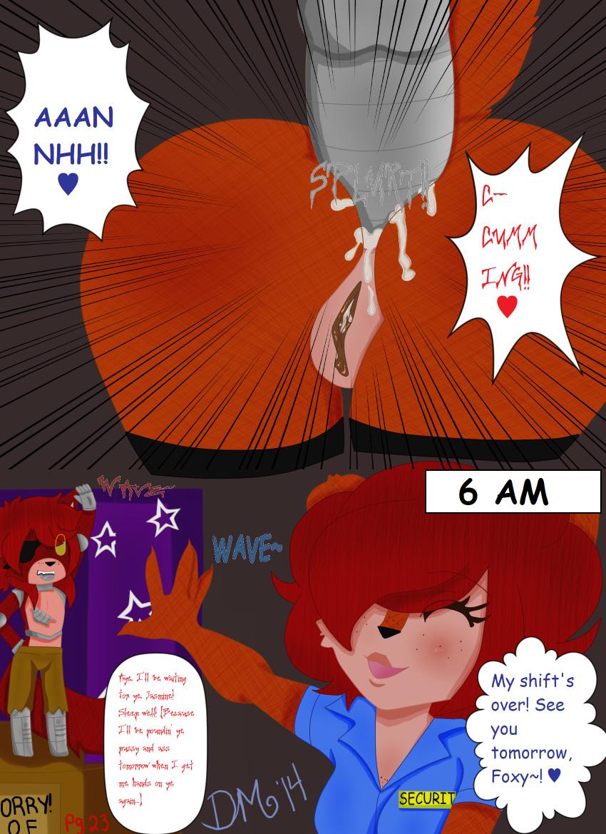 x fnaf mangle comic foxy Sarah ed edd and eddy