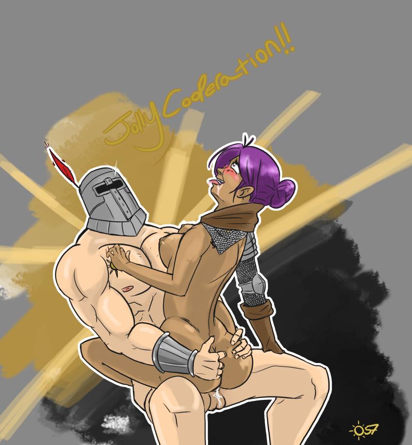 fencer 2 sharron dark souls Wolf girl with you liru