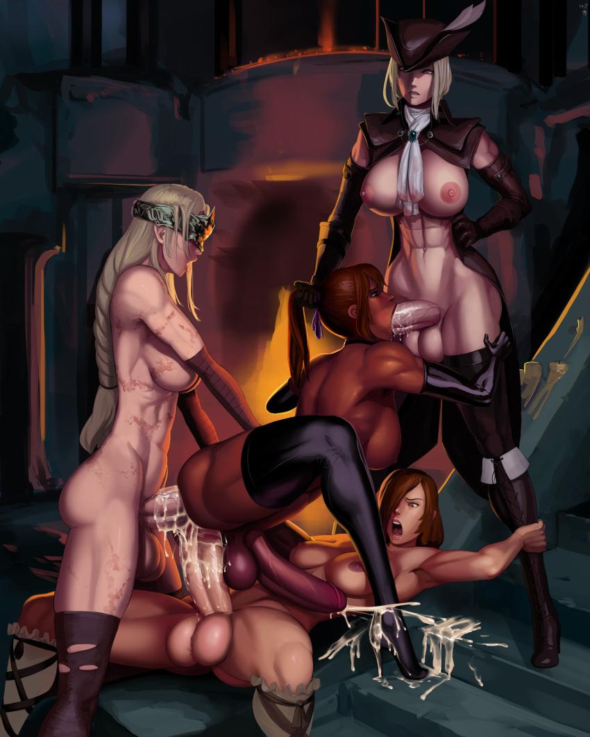 3 souls dark kicking in Sao hollow fragment bed scenes