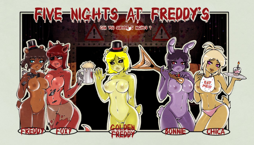 comic mangle fnaf x foxy Foster's home for imaginary friends berry