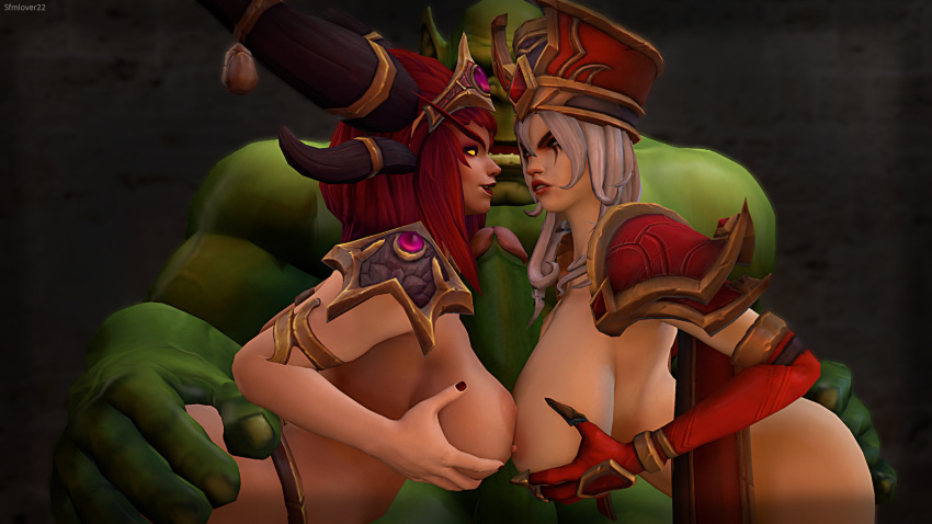 storm the alexstrasza of heroes Everyday life with monster girls papi