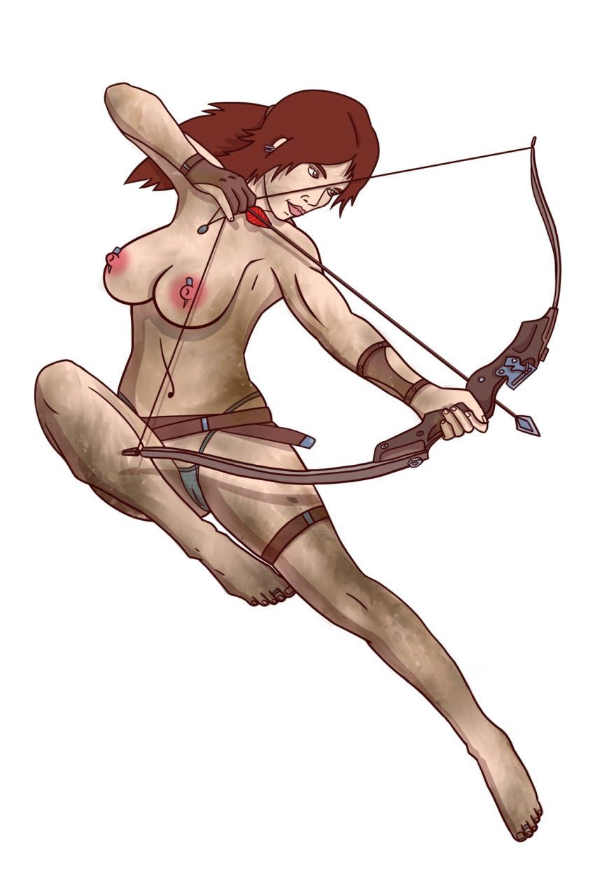 her and lara croft horse Fate apocrypha assassin of black