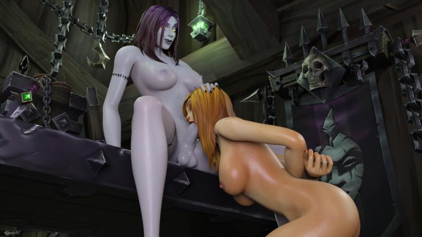troll of world female warcraft Futanari shimai no shima pan