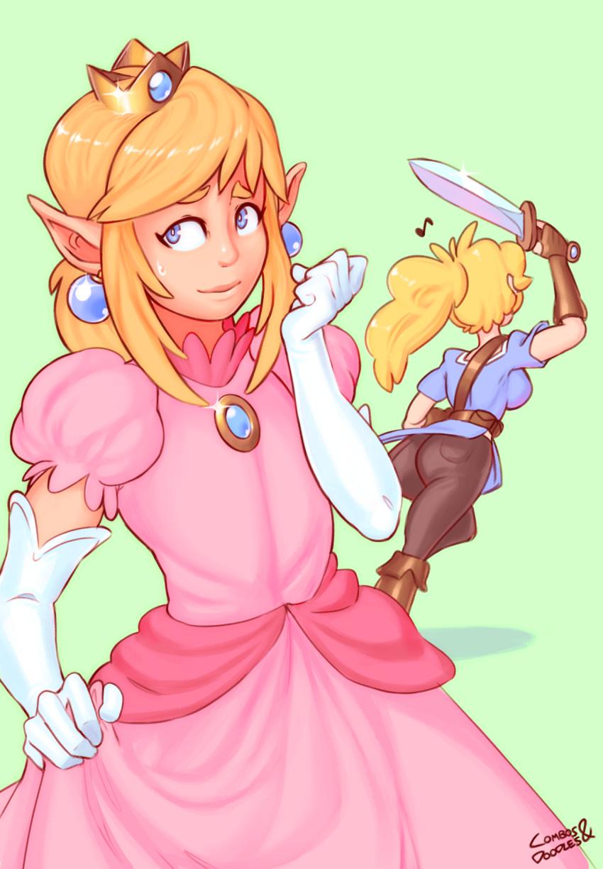 daisy naked peach and princess Summon night swordcraft story sugar