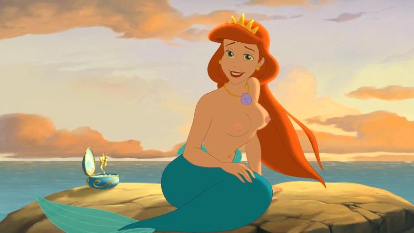 mermaid naked little ariel the Kumo nani ga desu ka