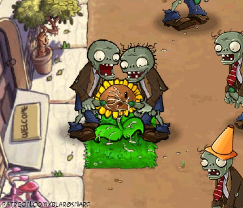 zombies potato mine plants vs Witcher 3 where is jutta