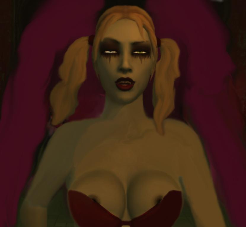 vampire bloodlines nines the masquerade Witcher 3 what happens to lena