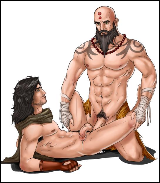 3 male diablo hunter demon Zelda breath of the wild vilia