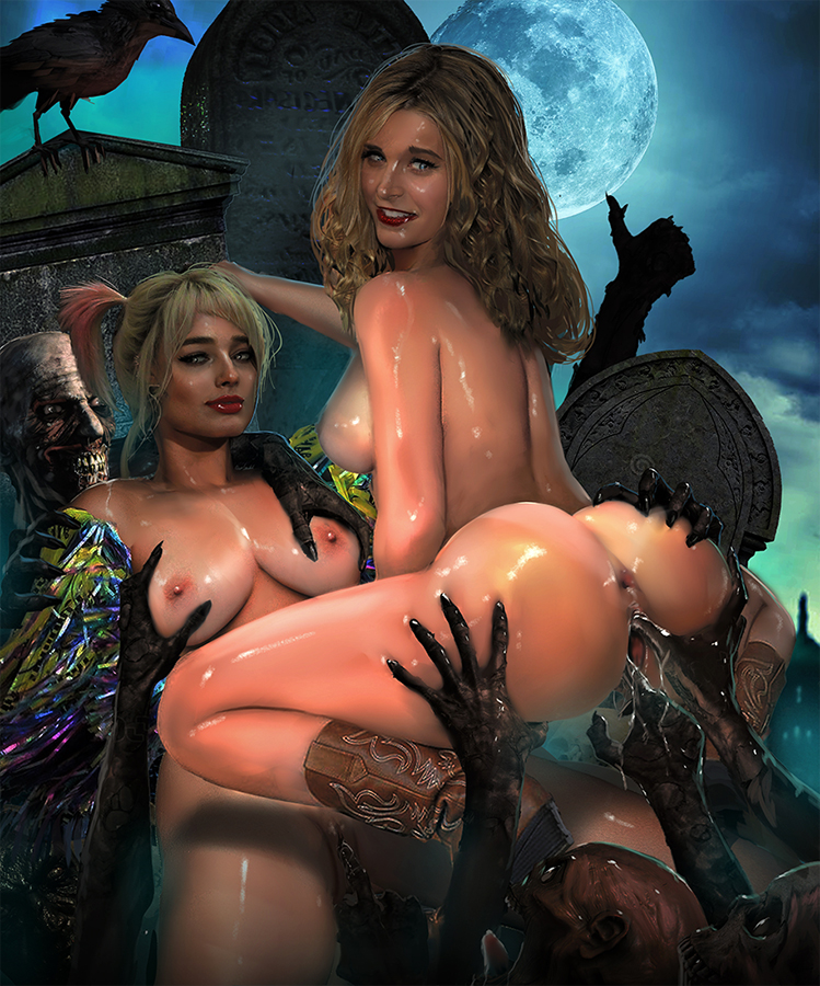 harley quinn nude pictures of Omokage ~ecchi na happening!? nandemo dontokoi!~
