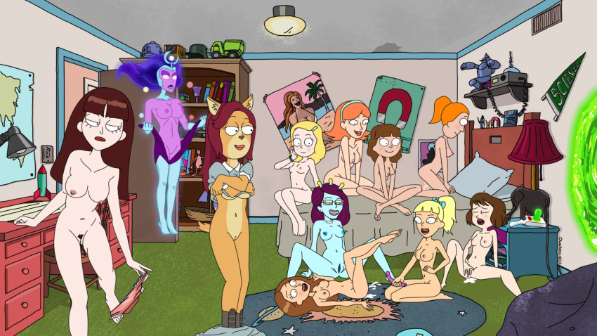 rick morty naked and sex Haramasete_seiryuu-kun!