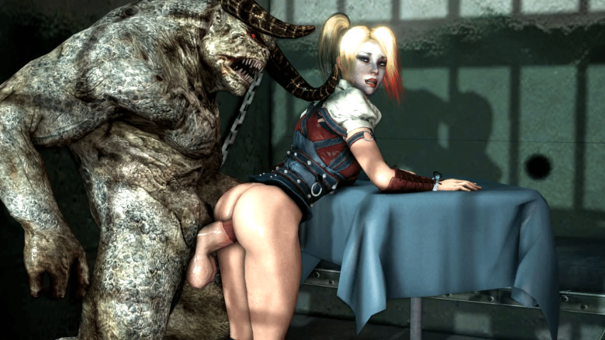 butt knight harley arkham quinn How big is scp 682